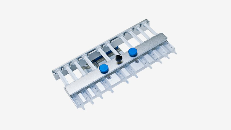 10 Channels Rack for Syringe Pump